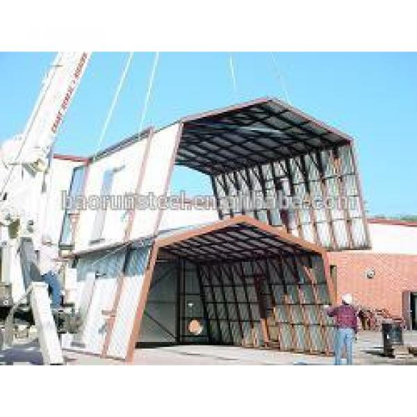 Prefabricated steel structure building workshop made in China #1 image
