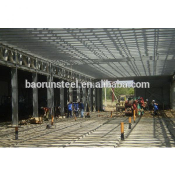 China low cost light steel structure poultry shed/farm made in China #1 image
