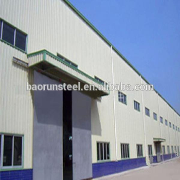 Low-cost prefabricated steel structure steel building #1 image