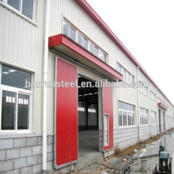 Large span high quality durable light steel structure prefabricated light steel house #1 image