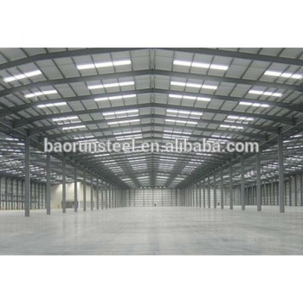 high quality low cost Column-free steel buildings #1 image