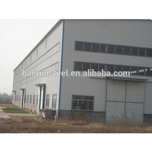 Easy assembled high-quality steel structure building/warehouse/workshop #1 image