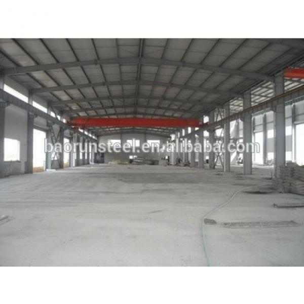 Prefabricated Industrial Steel Warehouse Shed Construction #1 image