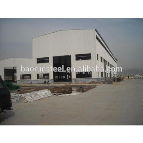 Warehouse building construction light steel structure cheap prefabricated house #1 image