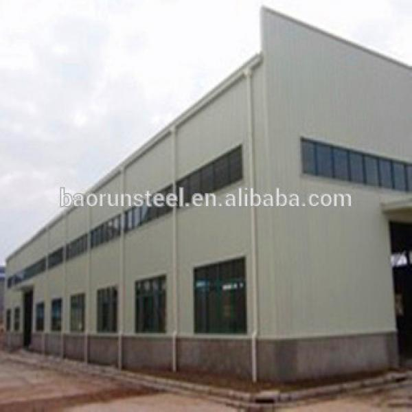 Prefabricated Industrial Wide Span Steel Structure Building for Hangar #1 image