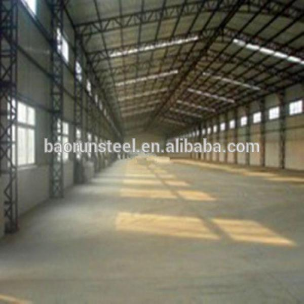 Qingdao prefabricated hangar and industrial shed designs #1 image