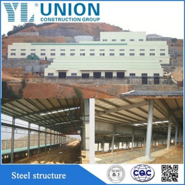 China prefabricated custom material steel structure building factory #1 image