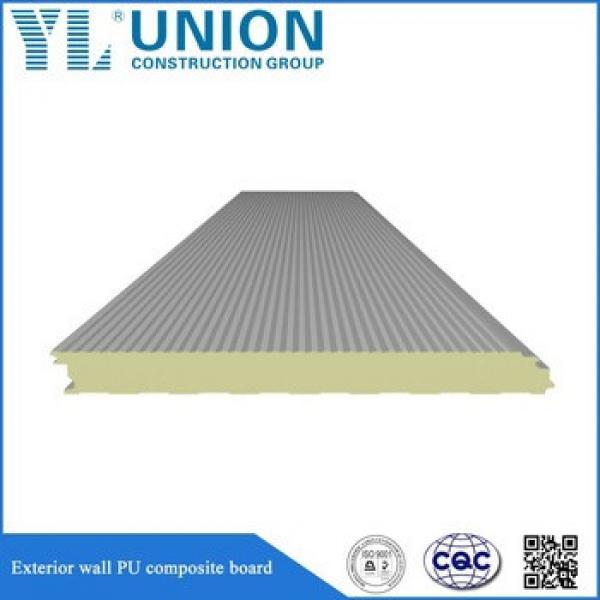 polyurethane foam roof sandwich panel installation #1 image