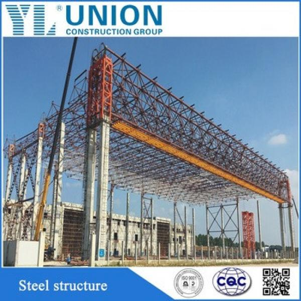 China supplier steel structure buildings and pre-fabricated Guangzhou hangar #1 image