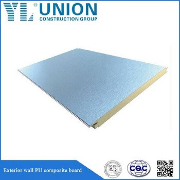 Polyurethane Corrugated Eps Lock Seam Sandwich Vinyl Roof Panel #1 image