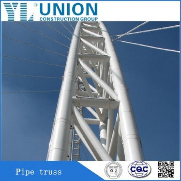 Latest Wholesalers Structure Steel Pipe Truss #1 image