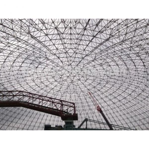 Metal Roof Trusses Construction Curved Steel Roof Trusses #1 image