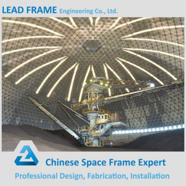 Prefabricated Steel Space Frame Long Span Storage Of Coal #1 image