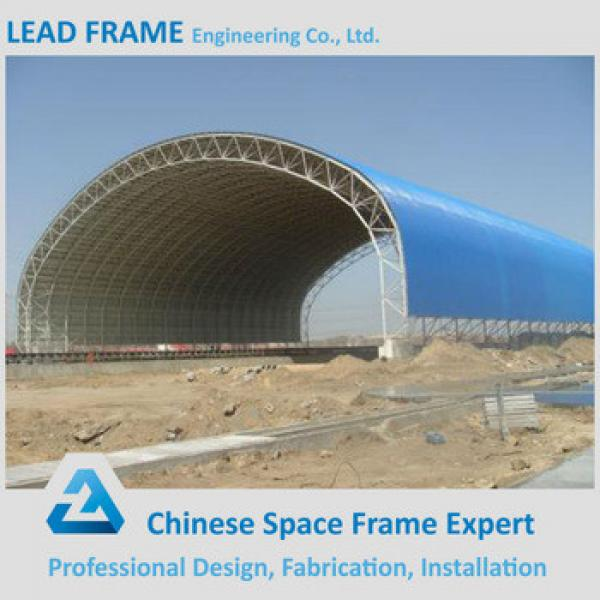 durable prefabricated arched roof building barrel coal storage #1 image