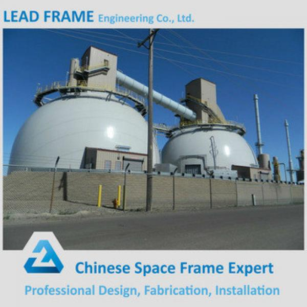 Low Cost Galvanized Truss Prefabricated Sheds Space Frame Steel Coal Storage #1 image