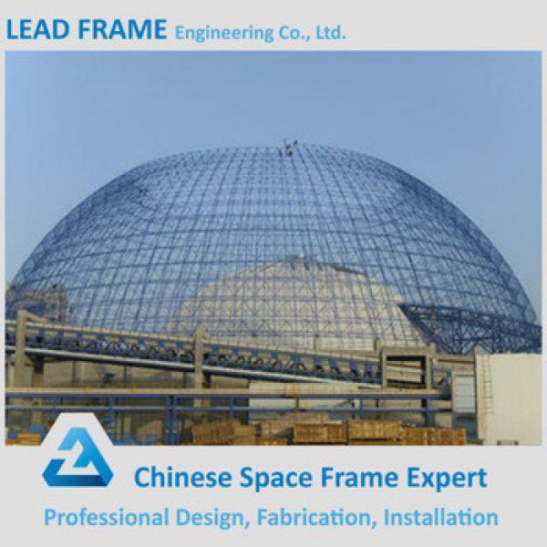 Prefabricated large span steel space frame #1 image