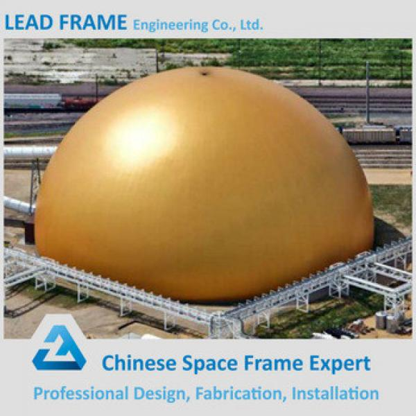 Prefabricated Galvanized Dome Steel Coal Shed For Dry Coal Storage #1 image