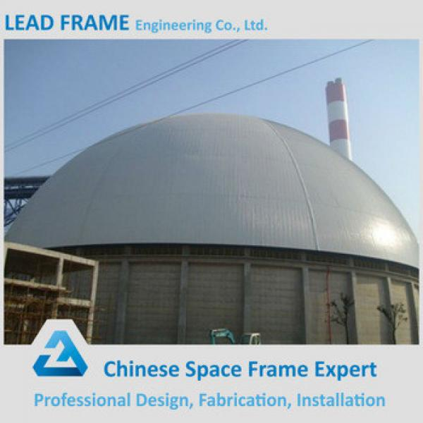 good price space frame roofing for dome coal storage #1 image