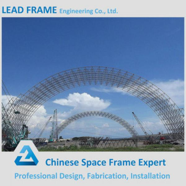 Prefabricated Steel Structure Building Space Grid Frame Storage Shed #1 image