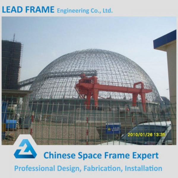 Steel Structure Space Frame Roofing Prefab Metal Structure 360 projection dome #1 image