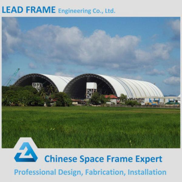 Lightweight Steel Space Frame Barrel Coal Storage #1 image