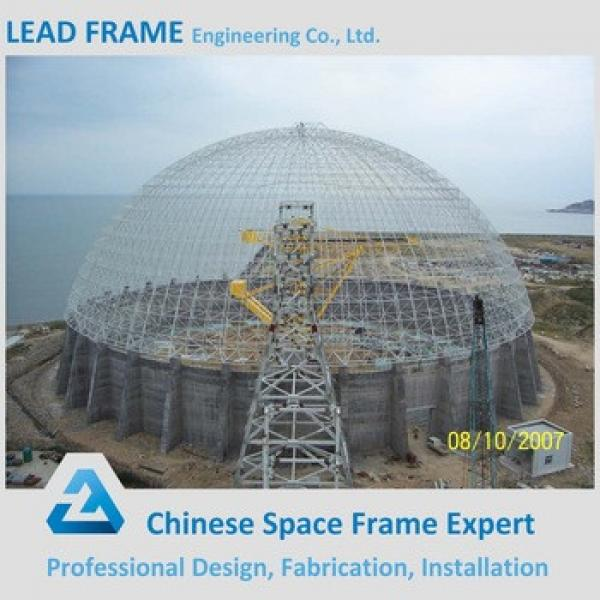Outdoor Waterproof Wind-resistant Space Frame Coal Storage Shed #1 image