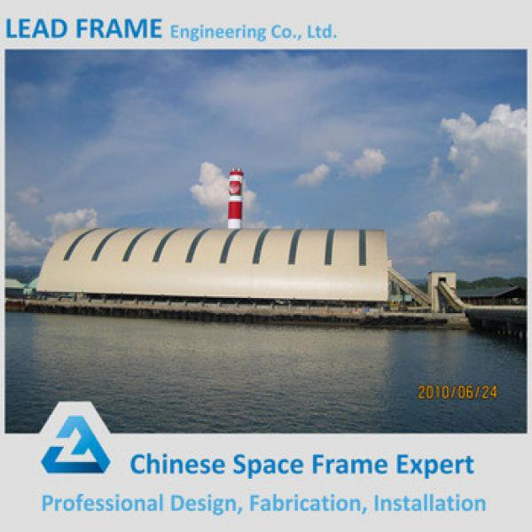 Aesthetic Steel Space Frame Coal Storage For Power Plant #1 image