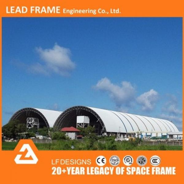 long span prefab steel structure space frame fabrication shed design #1 image
