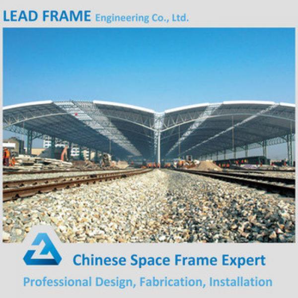 Stainless Steel Metal Roof Truss Design For Train Station #1 image