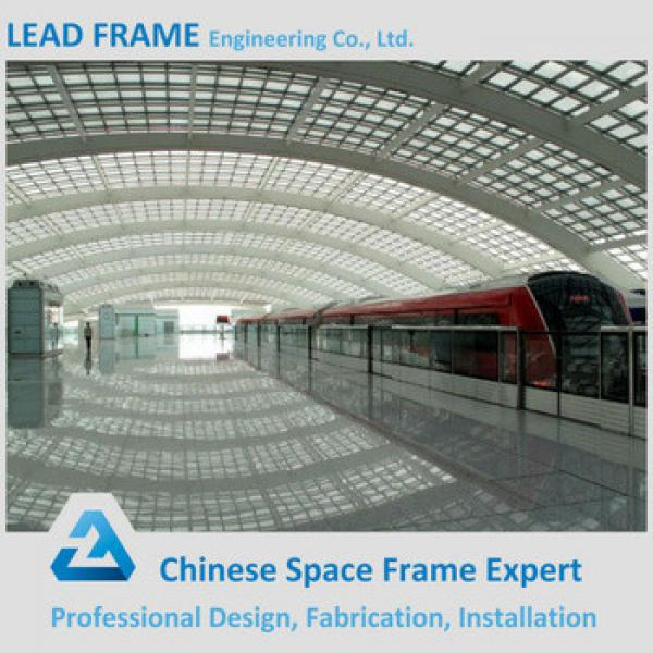 Stainless Steel Roof Truss For Railway Station Platform #1 image