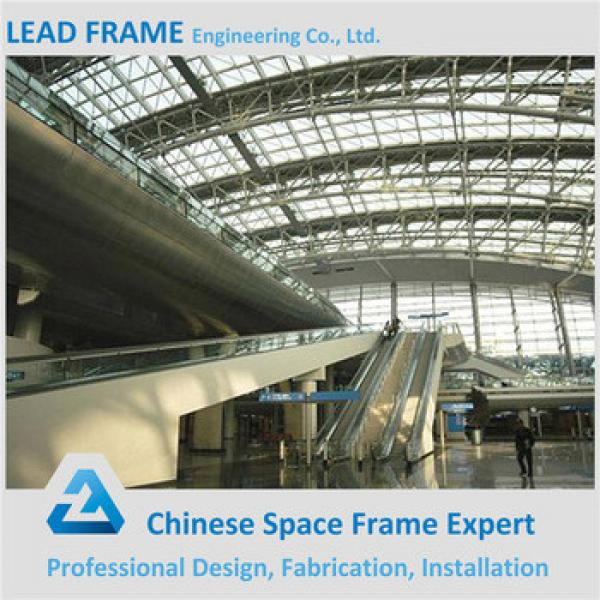 cheap space frame roofing for train station #1 image