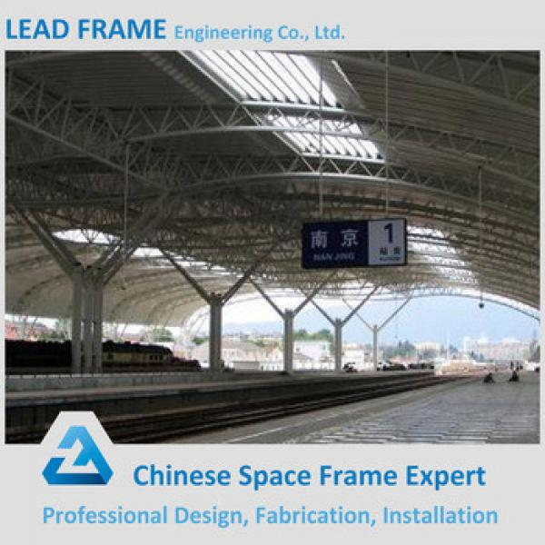 Roof latticed truss structure for train station #1 image
