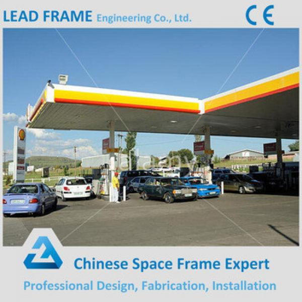 Hot Sale Steel Tubular Roof Strucure Gas Filling Station #1 image