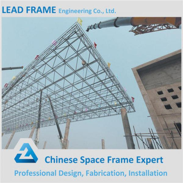 Steel Construction Building Gas Station Canopy With High Quality #1 image