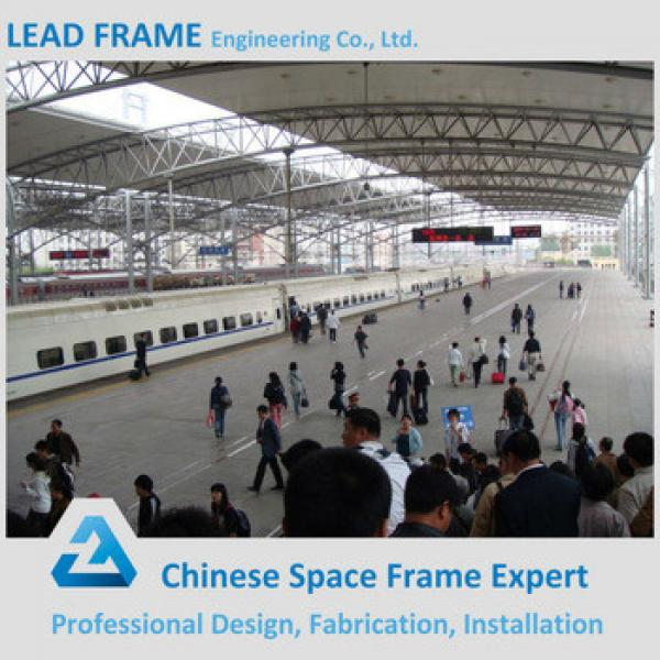 flexible customized design structure steel fabrication for train station #1 image