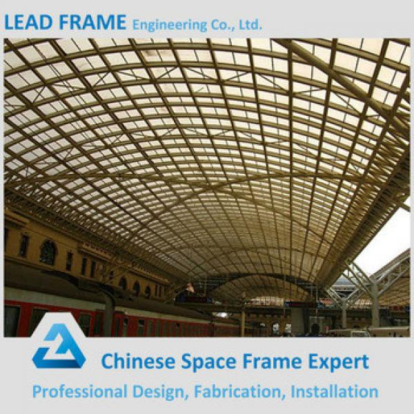Steel Space Frame Truss for Train Station #1 image