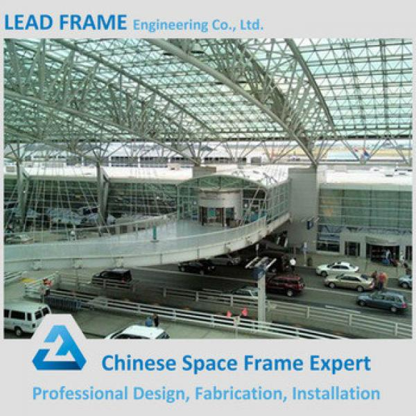 Customized steel roof truss airport terminal #1 image