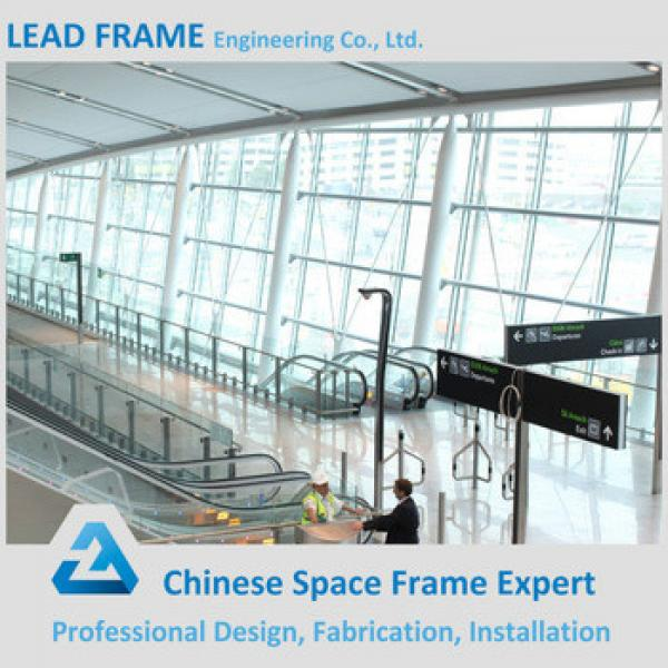 LF Made Steel Airport Terminal Space Grid Frame Structure For Sale #1 image