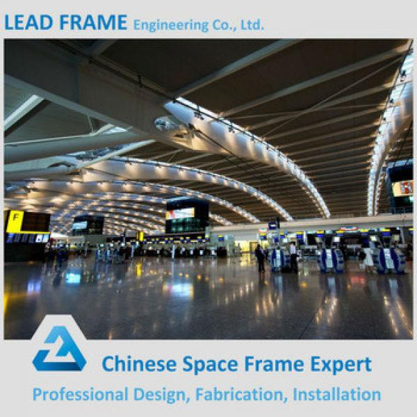 Prefabricated national airport with steel frame roof #1 image