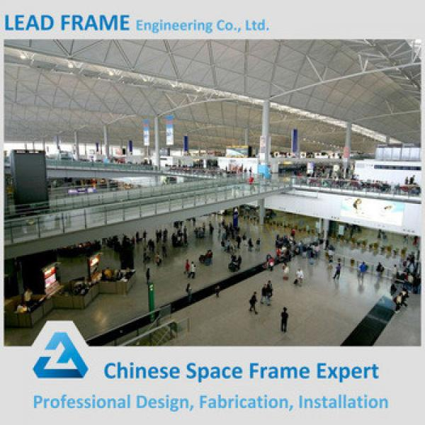 China supplier steel frame roof structure airport terminal #1 image