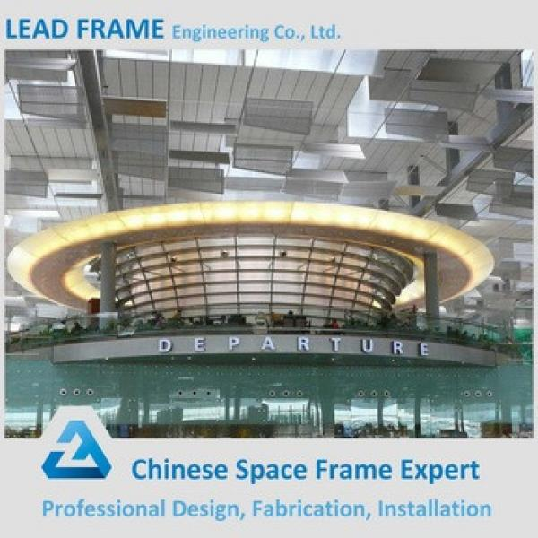 Modern International Airport Terminal Roof Design Space Grid Frame Structure #1 image