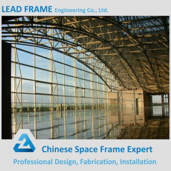 Prefab light steel structure airport terminal #1 image