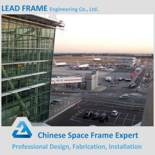 Long span prefabricated galvanized steel structure airport terminal #1 image
