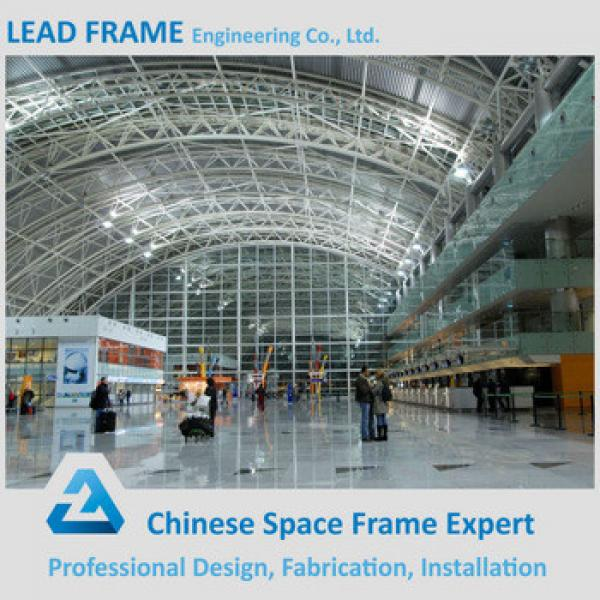 Economic anti-wind steel structure space frame airport terminal #1 image