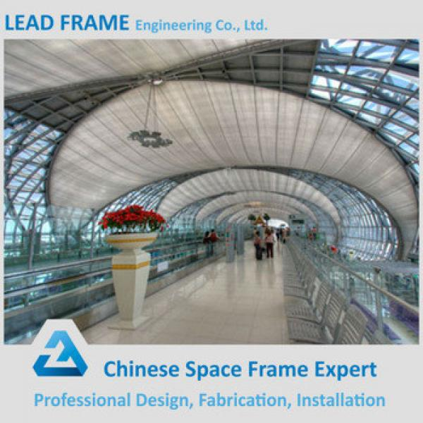 Metal structure steel space frame airport terminal #1 image