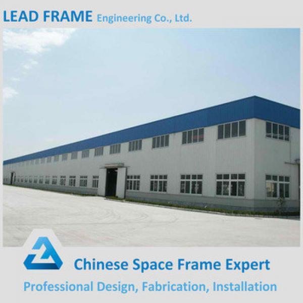 Customized steel frame structure industrial workshop building #1 image
