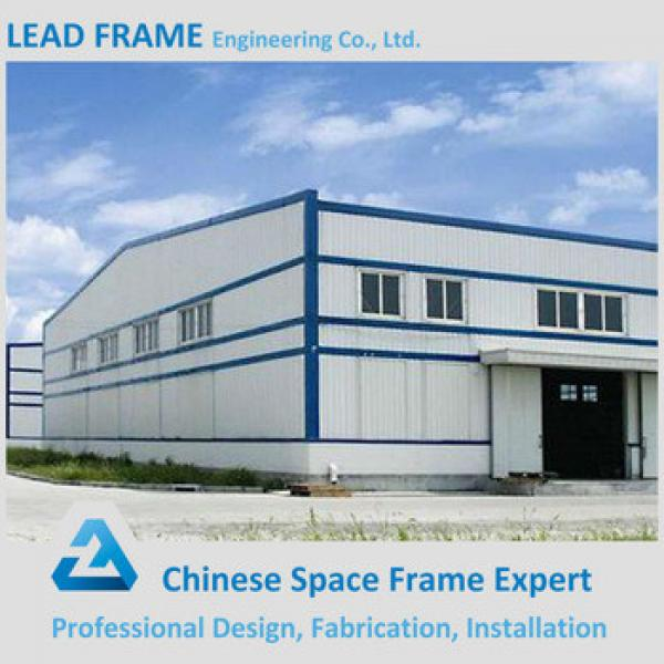 Galvanized prefabricated steel structure for factory #1 image