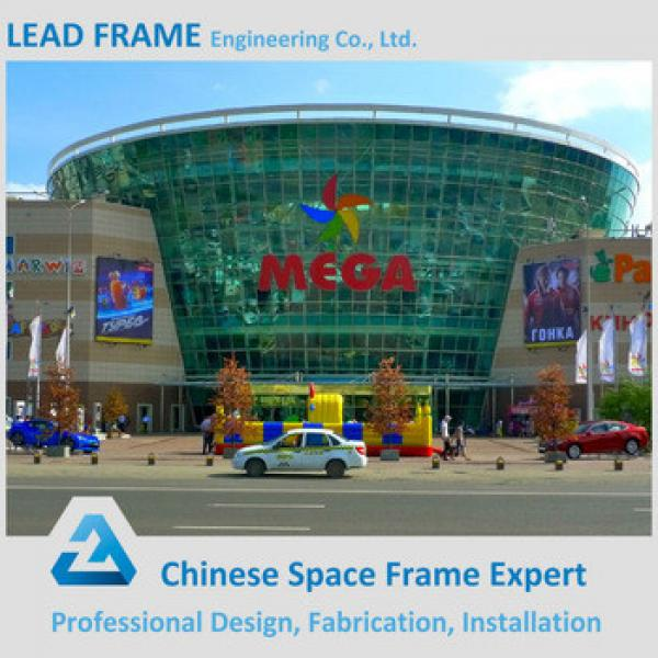 Galvanized Roof Truss Design Steel Structure Shopping Mall #1 image