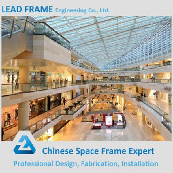 Steel Structure Space Frame Commercial Building Prefabricated Shopping Mall #1 image