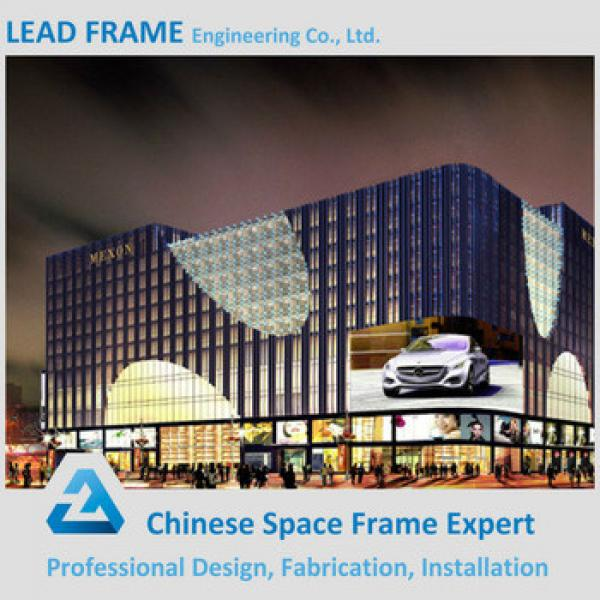 Attractive and durable space frame steel structure shopping mall #1 image